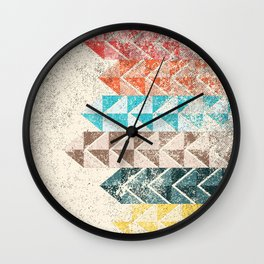 Dirty Lines Wall Clock