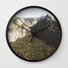 Yosemite Valley   California   John Hill Photography Wall Clock