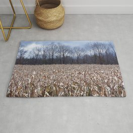 Field of Corn left Behind Rug