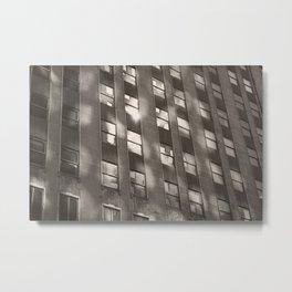 building reflection Metal Print