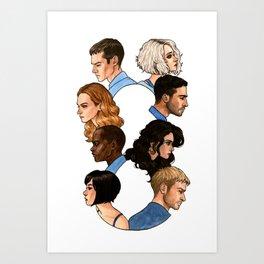 Sense8 Art Print