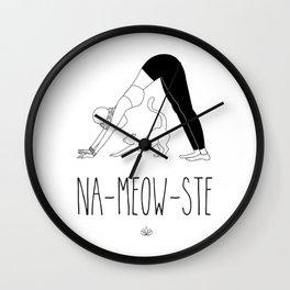 NA-MEOW-STE Wall Clock