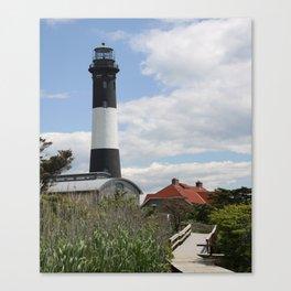 Walkway To Fire Island Lighthouse Canvas Print