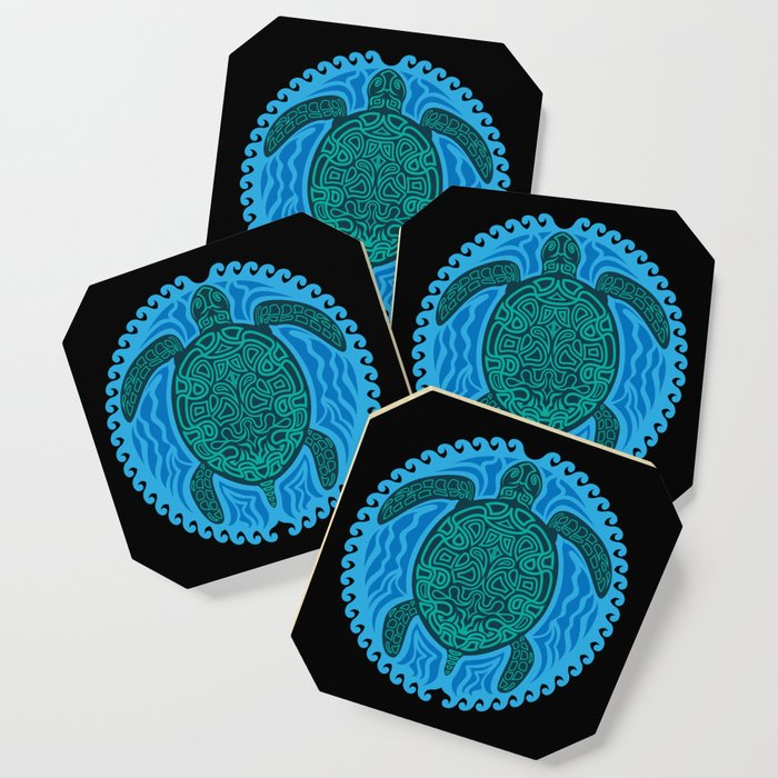 Hawaiian Tribal Turtle Art product| Sea Turtle Art designs ...