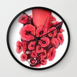 Wild X Free Wall Clock