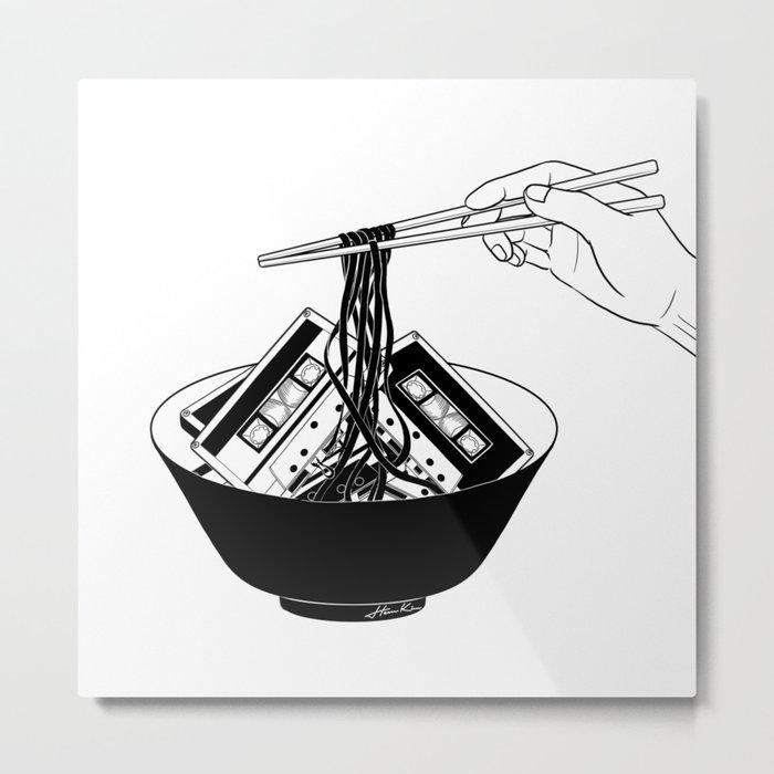 Enjoy Your Meal Metal Print