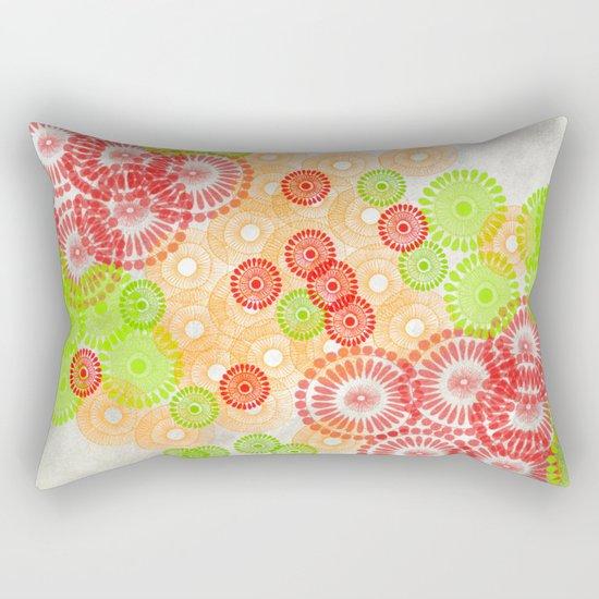 Round Round Round Round Rectangular Pillow