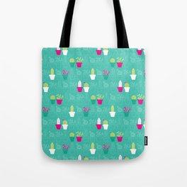 Mini Cactus Love Tote Bag