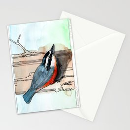 Red Breasted Nuthatch Stationery Cards