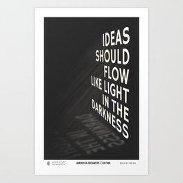 American Dreamers // Ed Finn Art Print