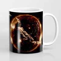 miles davis Mugs featuring Miles Davis - Jazz´n away by ARTito