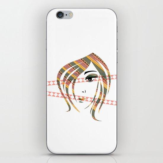 Eyes Wide Open iPhone & iPod Skin