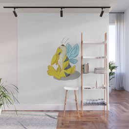 Bunny Bee / Bumble Bunny Wall Mural