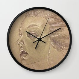 This is a face Wall Clock