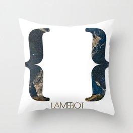Empty Set Throw Pillow