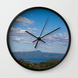 Ilopango Lake Wall Clock