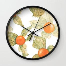 Physalis Boxes Wall Clock