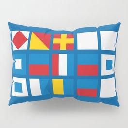 NAUTICAL FOR PETE'S SAKE Pillow Sham