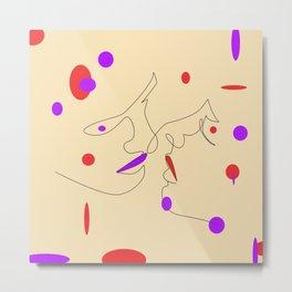 Abstract Modern Reflective Art-38 Metal Print