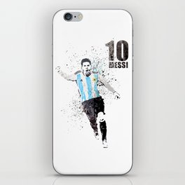 Sports art - World cup Argentina iPhone Skin