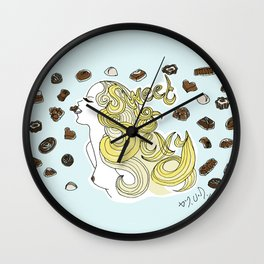 Sweet and Sexy Wall Clock