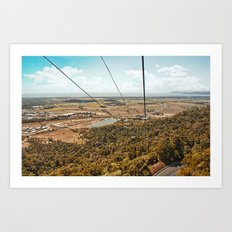 Skyrail View Art Print