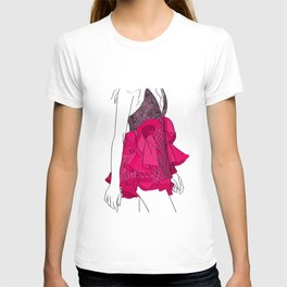 Pink dress T-shirt