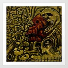 Fragments, Bones & Bits Art Print