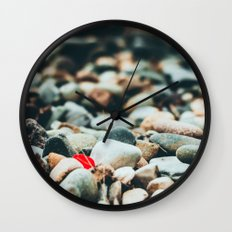 A Bit of Red Wall Clock