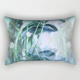 Meet Me Under The Mistletoe Rectangular Pillow