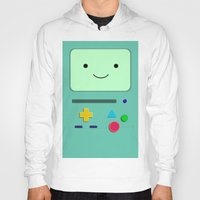 bmo Hoodies featuring BMO by skyetaylorrr