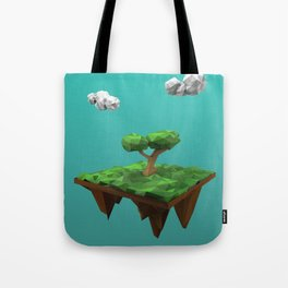 lowpoly summer Tote Bag