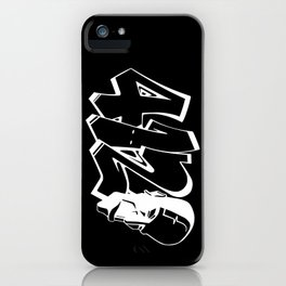 BLANKM GEAR - FOUR ONE DUECE (WHITE) iPhone Case