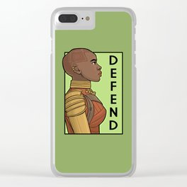 Defend Clear iPhone Case