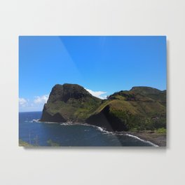 Beautiful colors of the West side of Maui 2 Metal Print