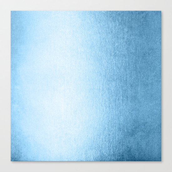Blue Raspberry Shimmer Canvas Print
