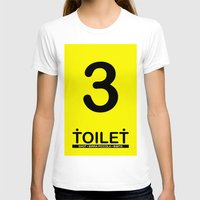 toilet T-shirts featuring TOILET CLUB #3 by Toilet Club