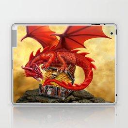 Red Dragon's Treasure Chest Laptop & iPad Skin