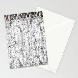Hibiscus meets Pandanus (St. Damien 8) Stationery Cards