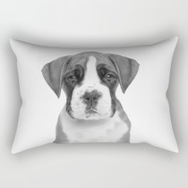 German Boxer Puppy Rectangular Pillow