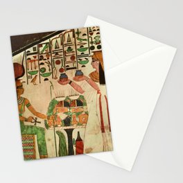 Ancient - Egyptian Wall Paintings 1956, Tomb of Queen Nefertari Stationery Cards