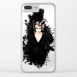 Edea Kramer FFVIII Clear iPhone Case
