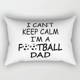 I'M A FOOTBALL DAD Rectangular Pillow