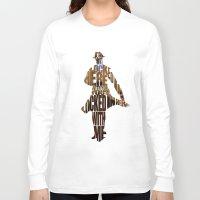 rorschach Long Sleeve T-shirts featuring Rorschach by Ayse Deniz