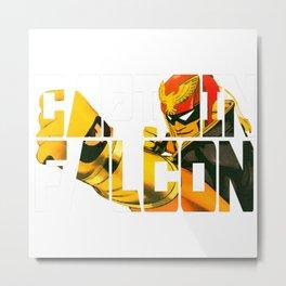 Captain Falcon Metal Print