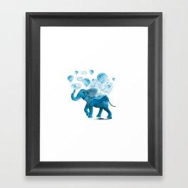 Elephant XIX Framed Art Print