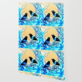 Bower Birds Wallpaper