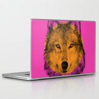 eric fan Laptop & iPad Skins featuring Wild 7 by Eric Fan & Garima Dhawan by Garima Dhawan