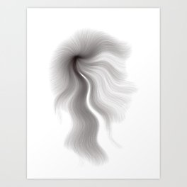 Algorithmic Portrait: Todd Art Print