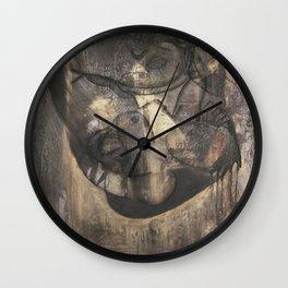 Women who run with wolves II. Bonewoman Wall Clock